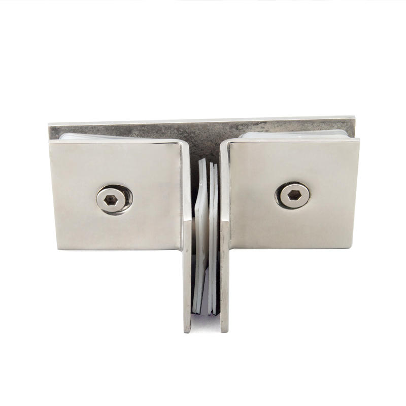 T Shape Shower Door Glass Clip Connector GC-T