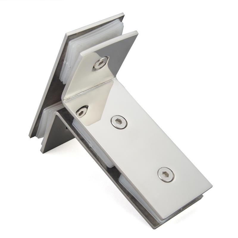 Three Glass Panel Connector Shower Door Glass Clip GC-T-180