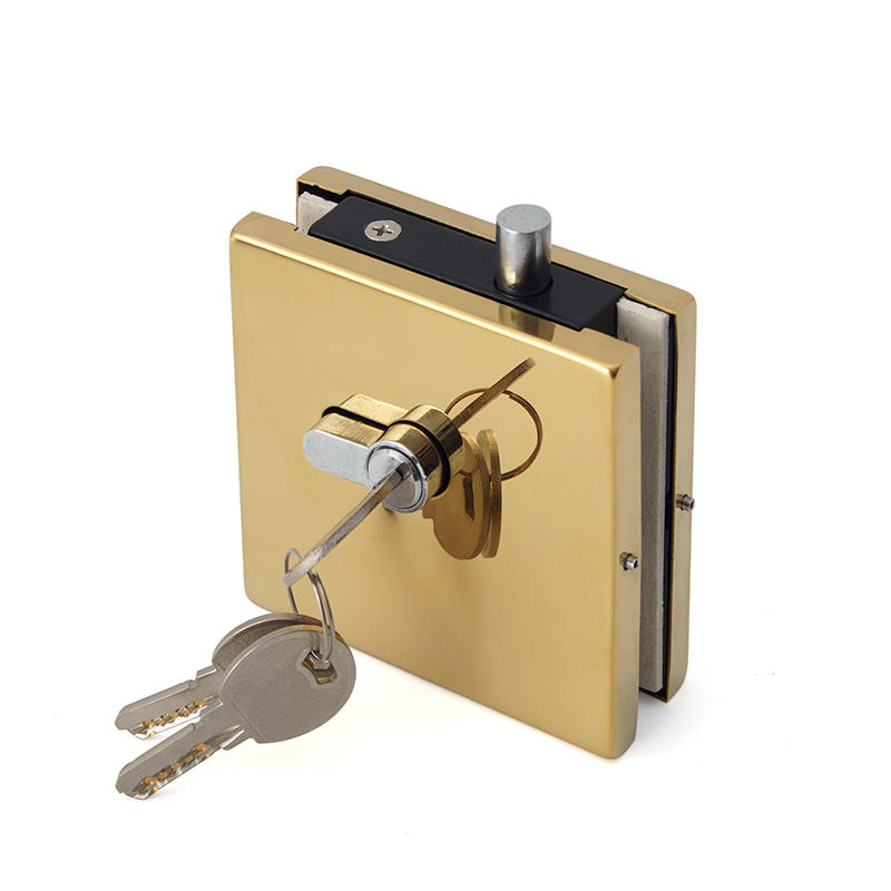 Center Patch Lock With Cylinder Lock Head PF-013D