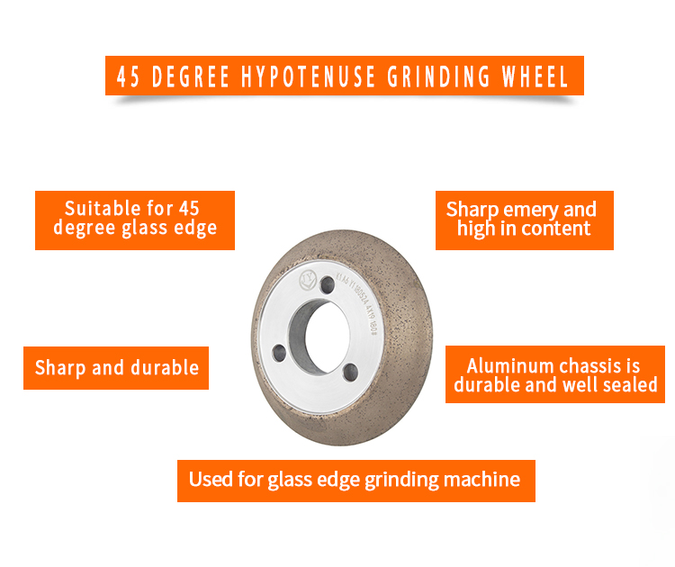 product-45 degree diamond grinding wheel for shape edging machine A-M45-JY-img