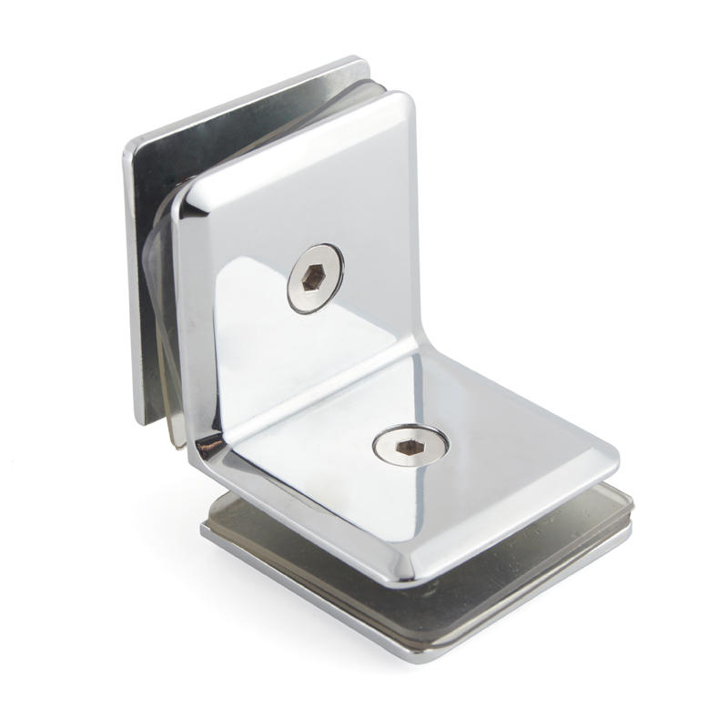 90 Degree Glass to Glass Shower Door Glass Clips GC-00CD1-90A