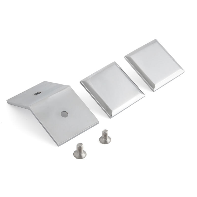 135 Degree Glass to Glass Shower Door Glass Clips GC-135C