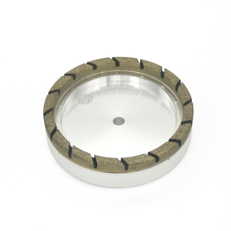 Full segmented diamond glass wheel AX