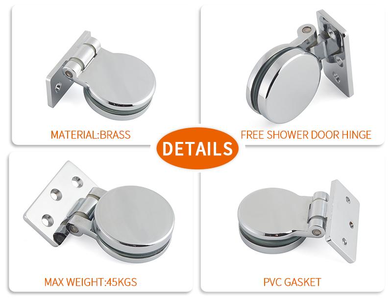 product-Bathroom shower Glass Door Copper Hinge SH-7-46-JY-img