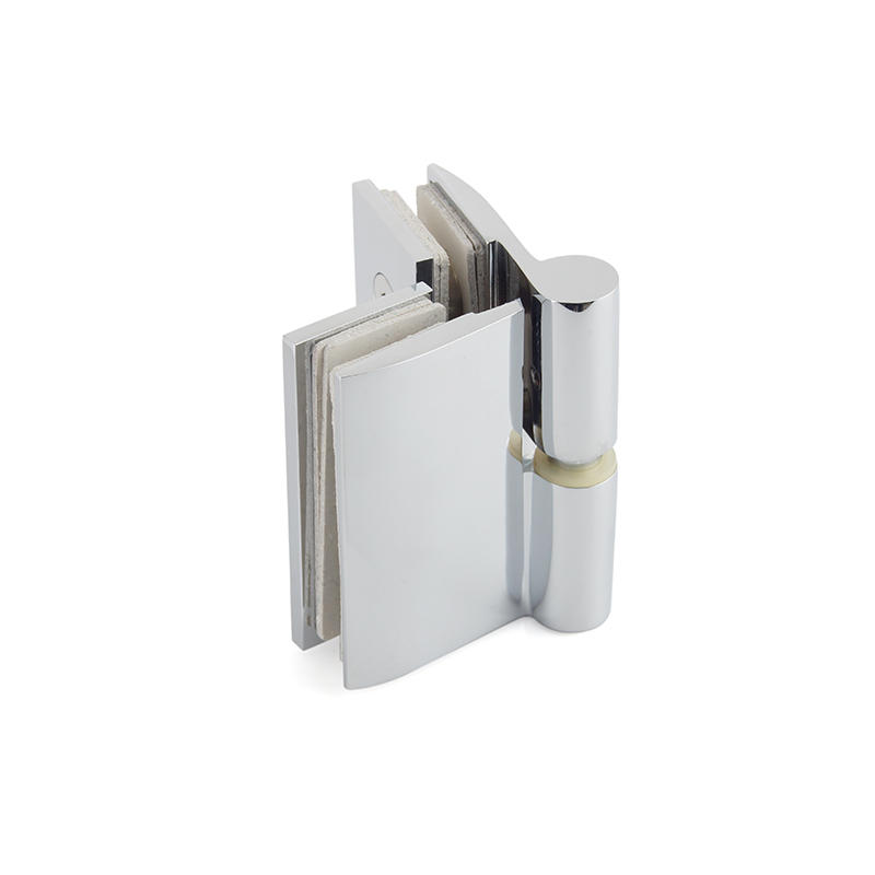 Glass to Glass Brass Shower Door Hinge  SH-7-23