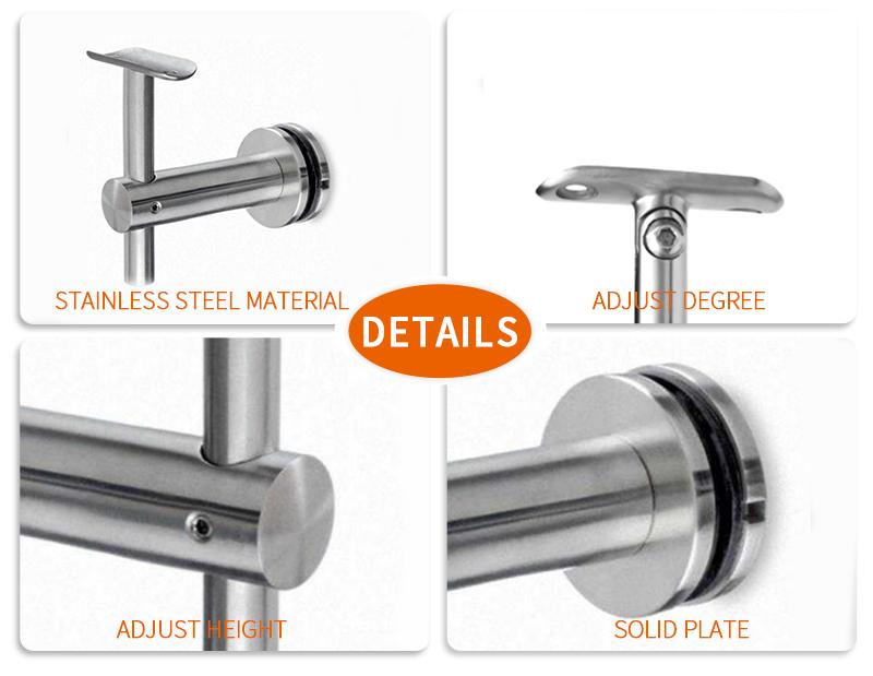 product-JY-HANDRAIL TUBE BRACKET GLASS WALL ADJUST HEIGHT HA-01-img