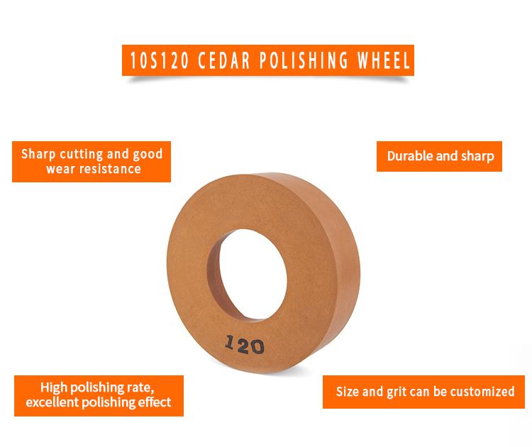 product-China 10S120 Glass Polishing Cup Wheel 10S120-B-JY-img