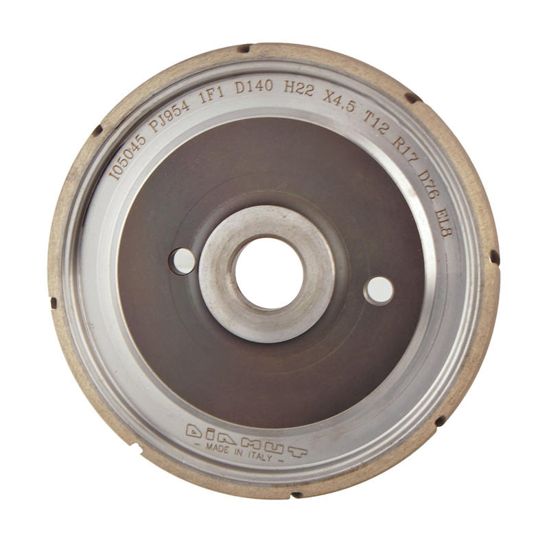 Diamut sintered diamond wheel for glass A-U-DIAMUT