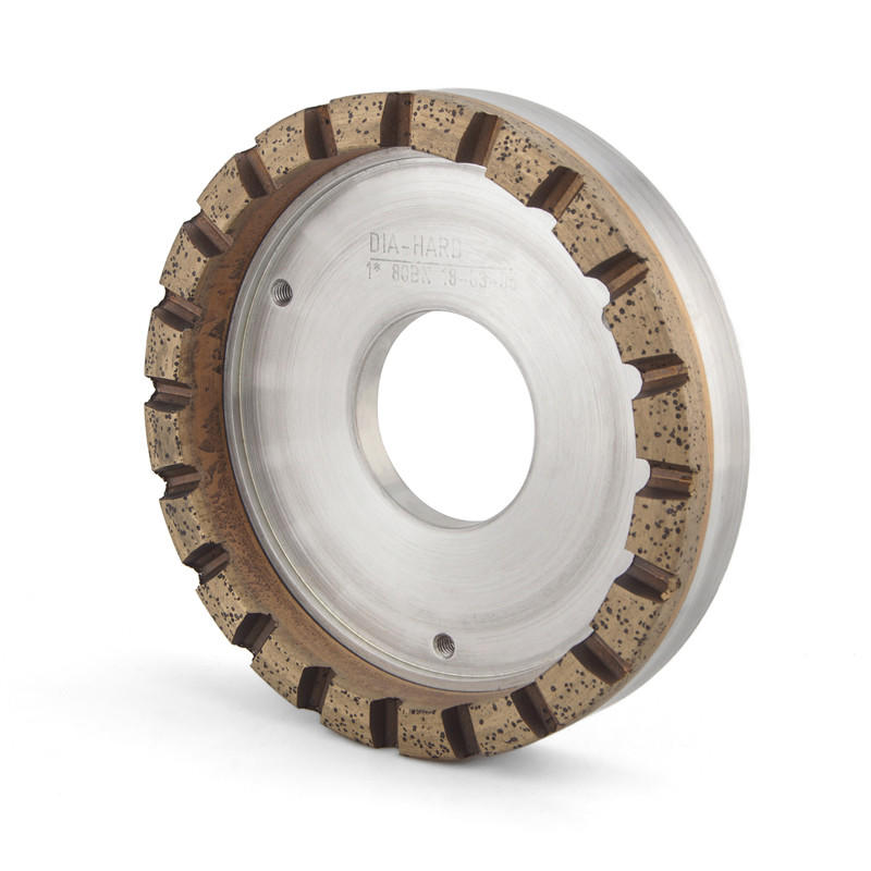 High quality segmented grinding cup wheel for glass edger AQ-DIA
