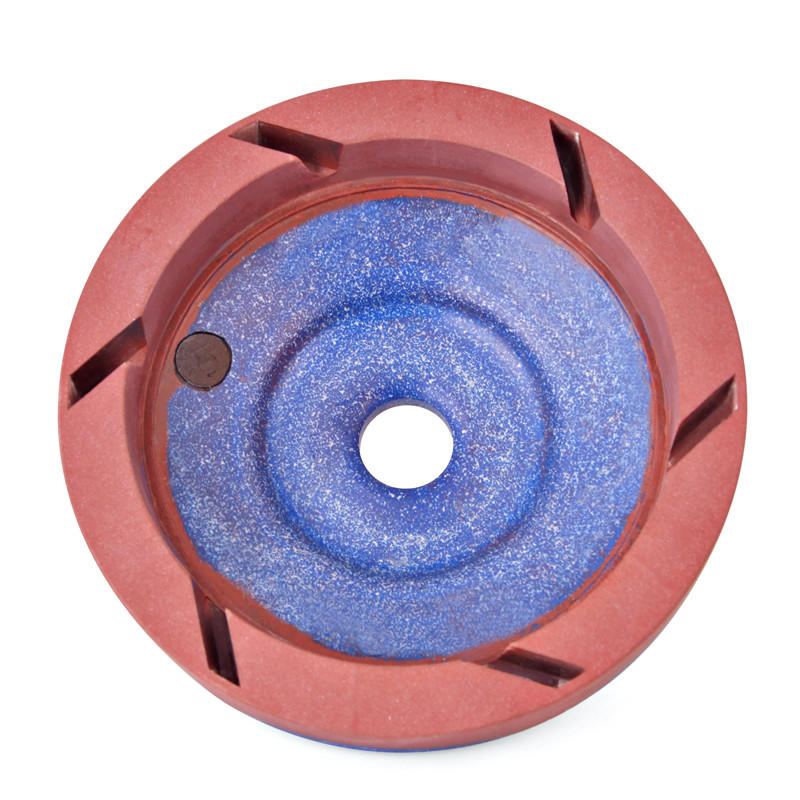 Inner segmented glass resin bowl wheel EN-BOV