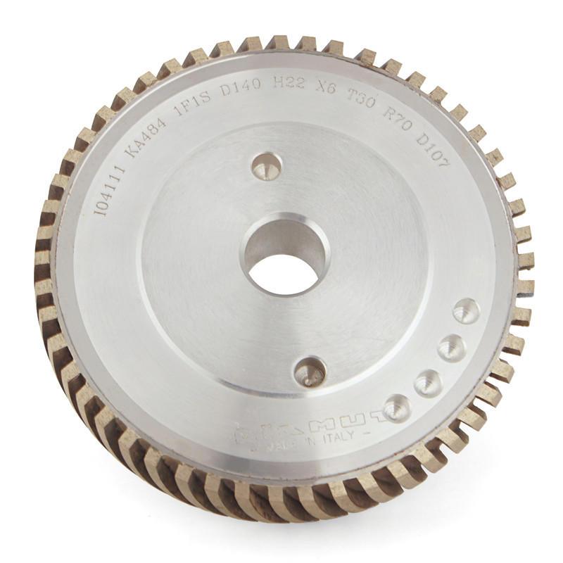 Glass Diamond Peripheral wheel All segment engraving wheel AS-U-DIAMUT