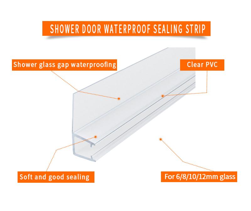 product-Glass Gap Waterproofing Shower Door Sweeps TSS-12-JY-img