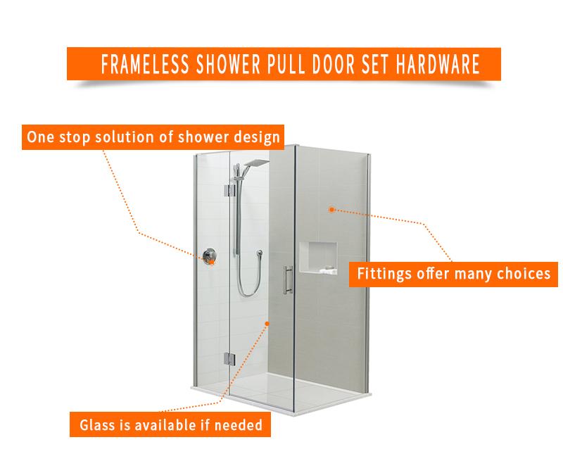 product-Frameless Shower Pull Door Kits SE003-JY-img