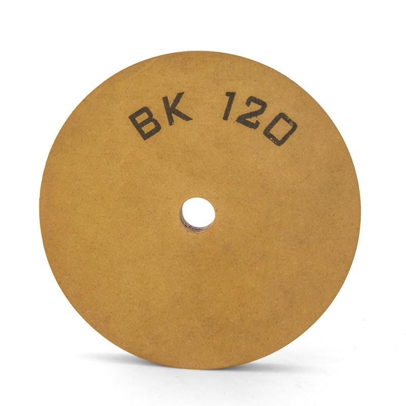BK polishing wheel flat-shape BK120 polishing wheel used for glass edge grinding BK-FE-B120