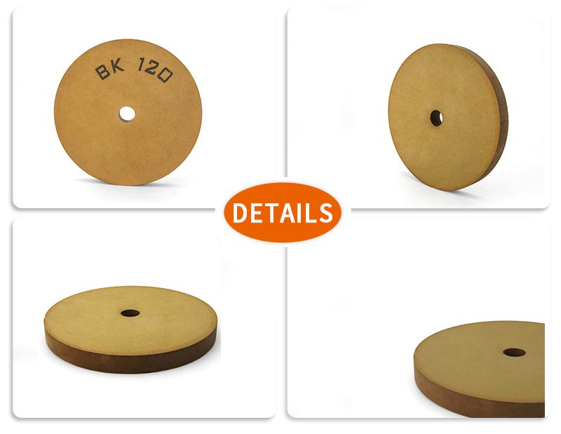 product-BK polishing wheel flat-shape BK120 polishing wheel used for glass edge grinding BK-FE-B120-