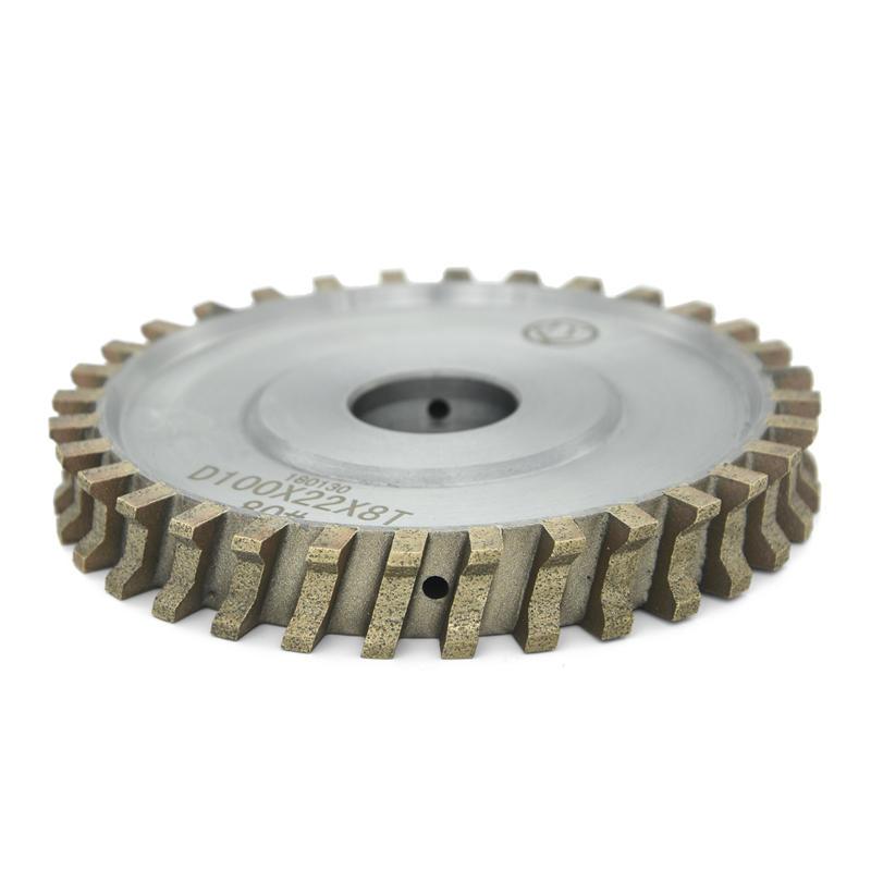 Glass Diamond Peripheral wheel all segment double edge grinding wheel AS-FA