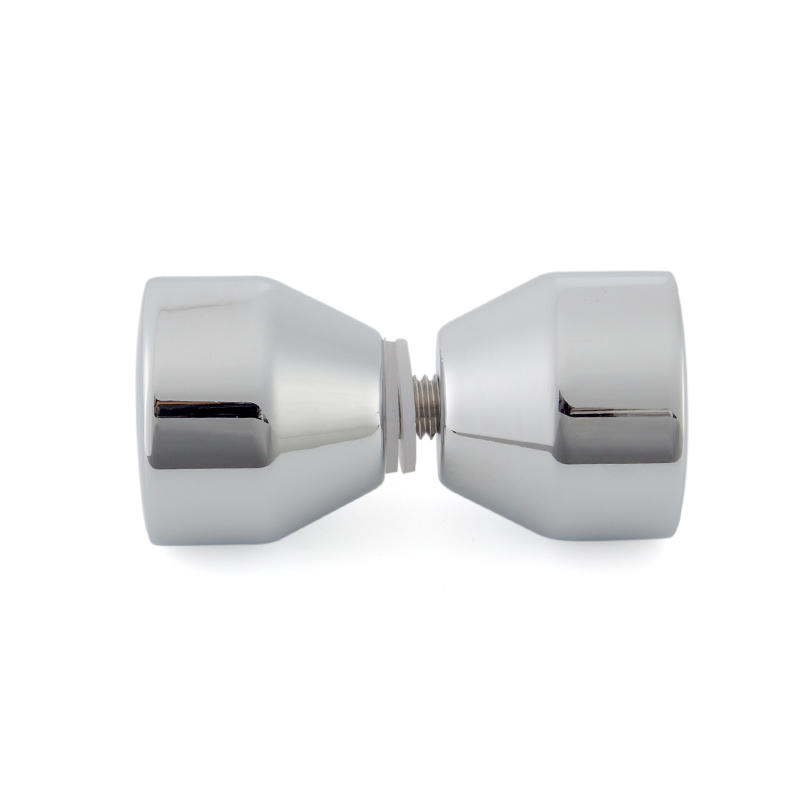 Door Knobs Bright Chrome Brass SDK-13