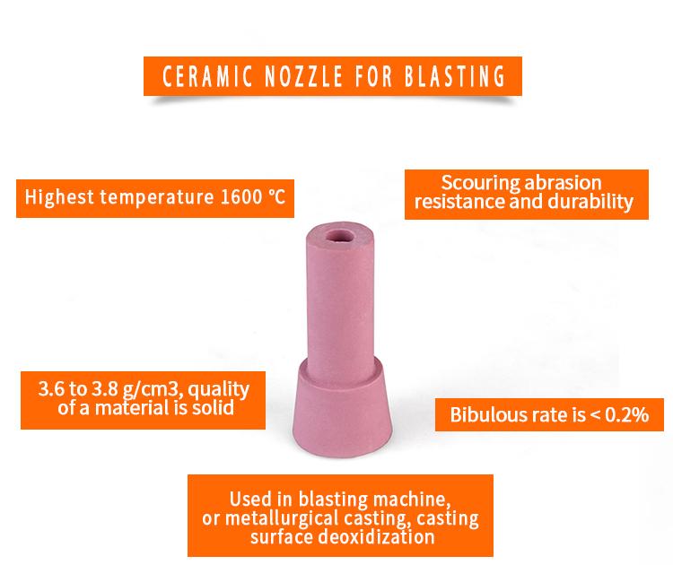 product-Sand Blasting Abrasive Ceramic nozzle for sand blast gun GSB-NC-JY-img