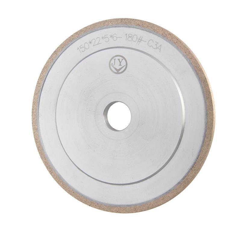 Glass Diamond Peripheral wheel V-shaped diamond wheel with engraved design A-V-ZH