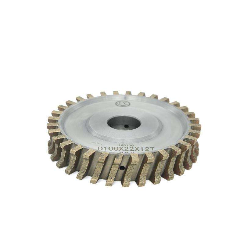 Glass Diamond Peripheral wheel double edge diamond grinding wheel AS-FA