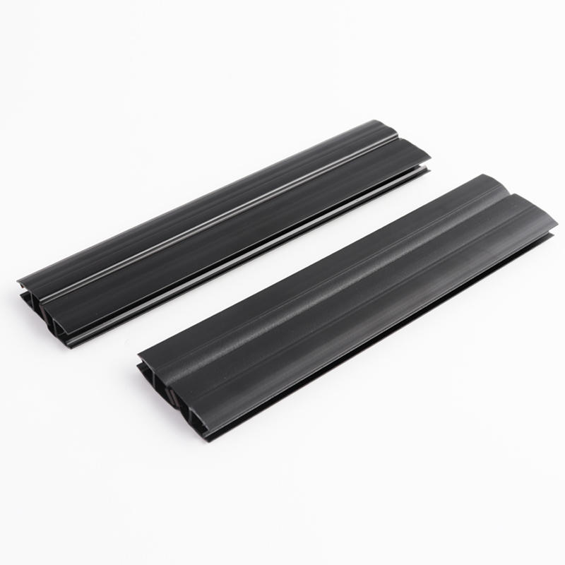 90 Degree Matt Black Shower Door Sealing Strips with Magnetic