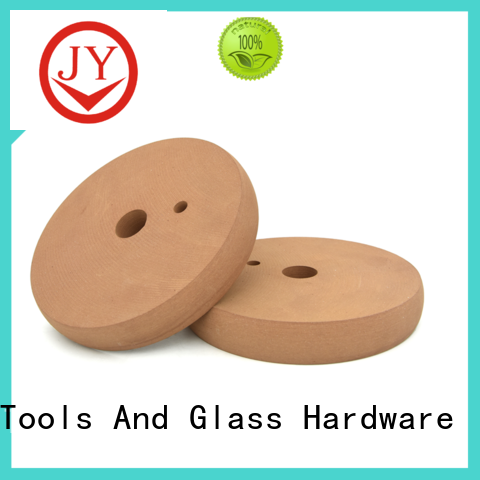 JY glass polishing wheel manufacturers for furniture glass