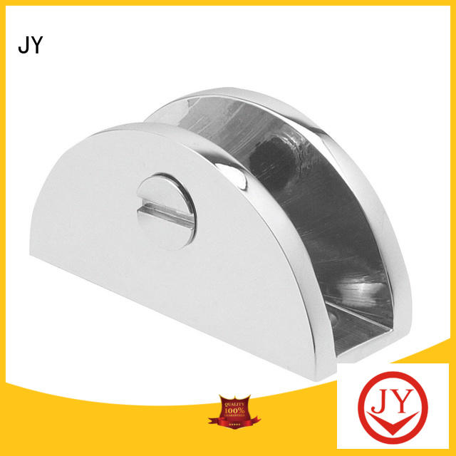 JY wide range of application glass bracket holder factory for Shower Enclosures