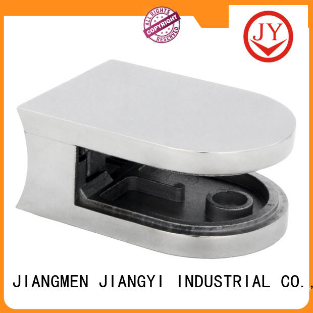 JY solid construction glass railing clamp company for Bath Screens