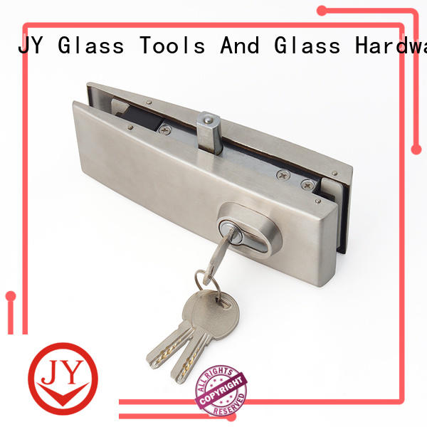 JY Custom lock patch manufacturer for glass