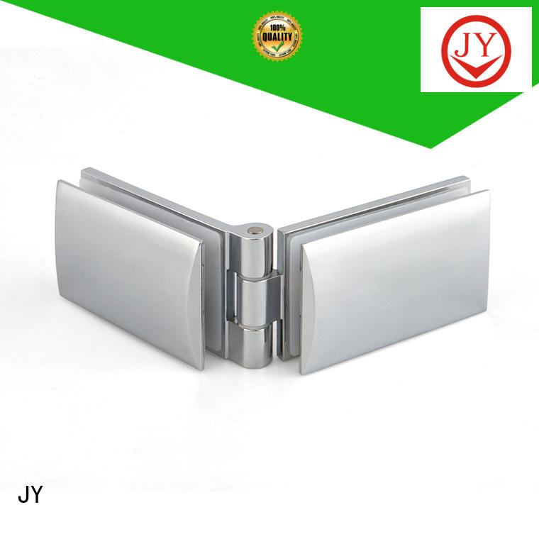 JY glass door clamp hinges company for Shower Enclosures