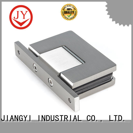 JY good quality shower door hinges glass to wall for Glass Door