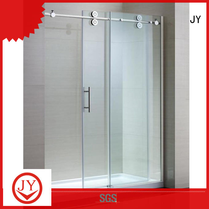 JY High-quality materials steel sliding door hardware Exporter for Glass products