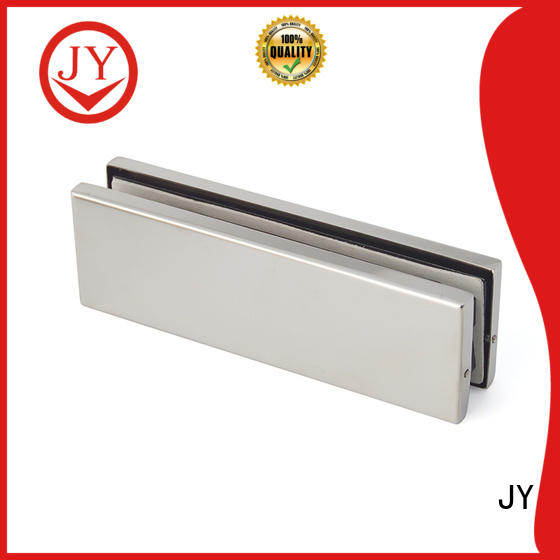 JY stable glass patch fittings wholesale for Glass products