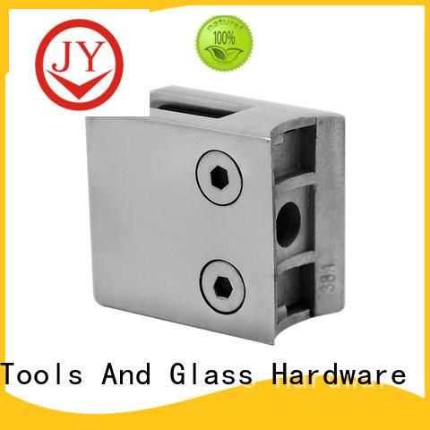 safe glass balustrade clamps supplier for Hotel Shower Room