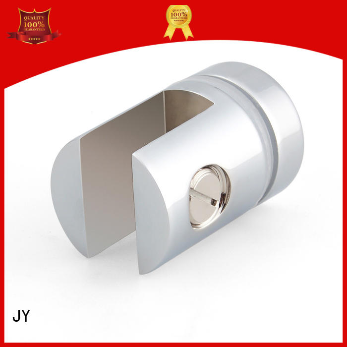JY Popular design glass clamp China for Shower Enclosures