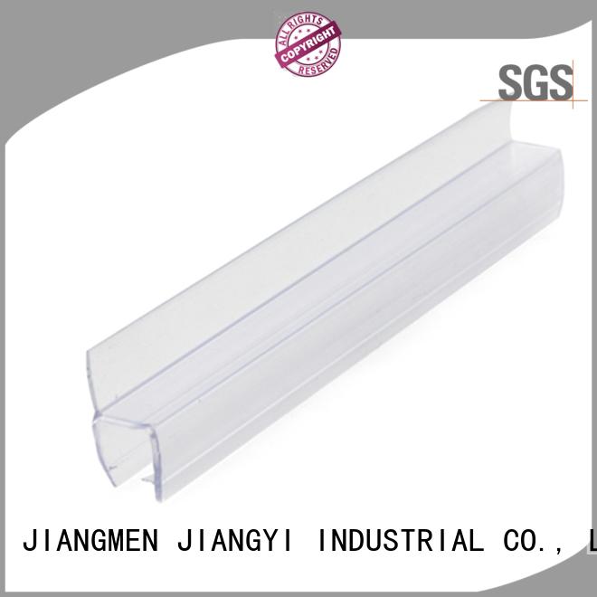 Waterproof glass edge PVC guard trim seal strip TSS-6