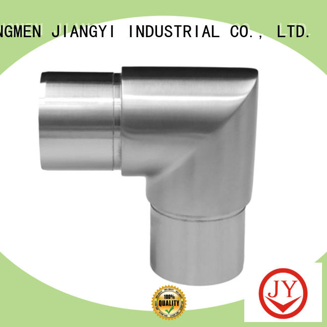 Customized stainless steel handrail fittings manufacturer for glass