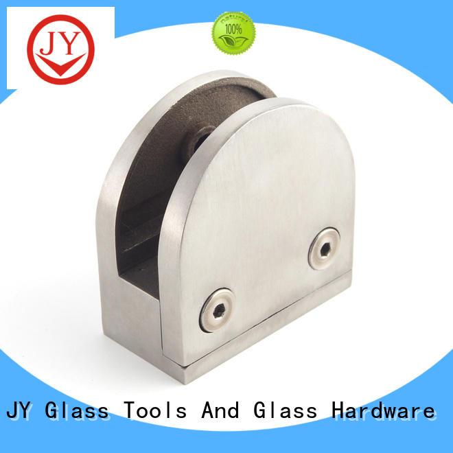 JY glass handrail hardware supplier for Hotel Shower Room