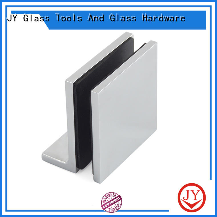 solid construction glass clamp Exporter for Shower Room