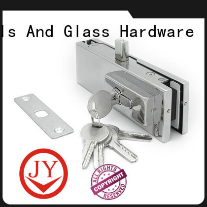 JY professional patch fitting factory for Glass product