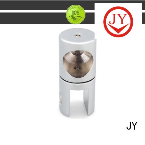 JY useful frameless shower door support bar Suppliers for Glass products