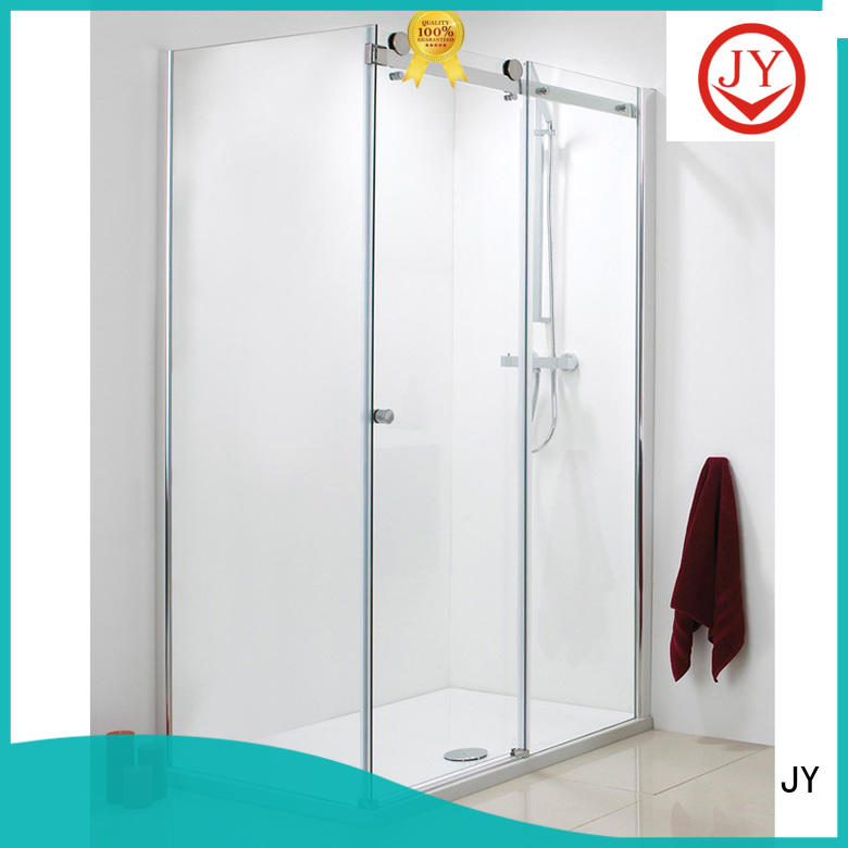JY New bathroom sliding door hardware for business for Glass products