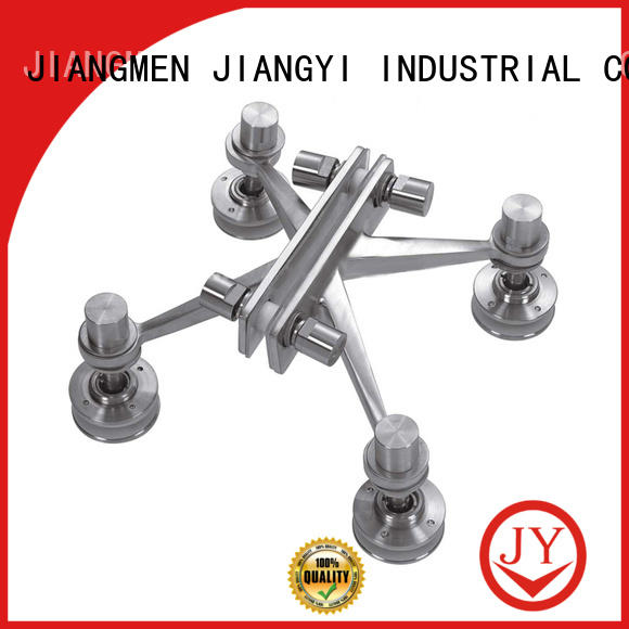 JY stable spider glass fittings wholesale for Glass products