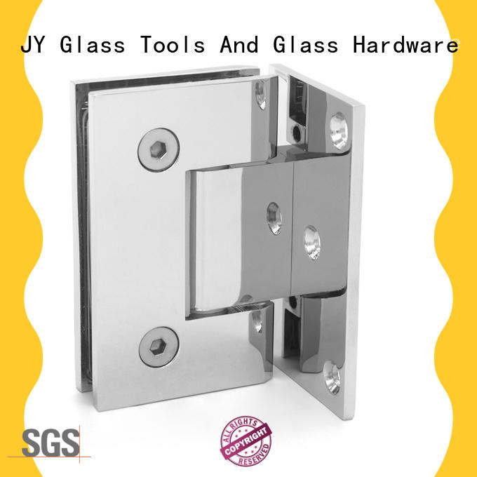 JY adjustable door hinges the company for glass screen