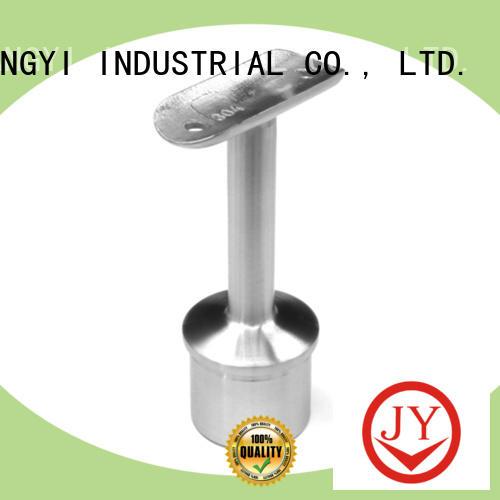 stable aluminum handrail fittings manufacturer for glass