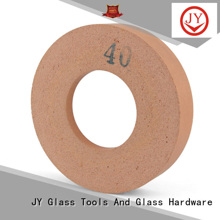 JY Top glass polishing wheel factory for building glass