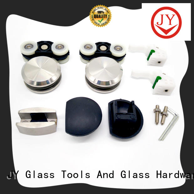 JY stable sliding door hardware kit China