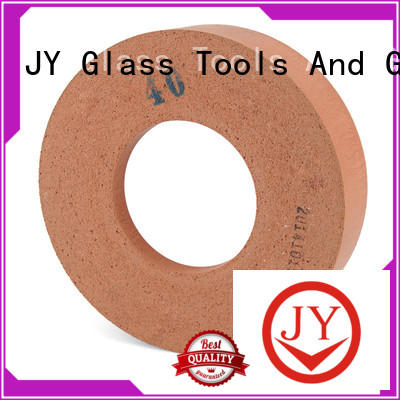 JY good wear resistance buffing polishing wheels household appliances for building glass
