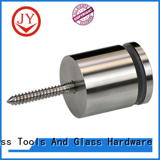JY stainless steel handrail fittings Suppliers for Glass products
