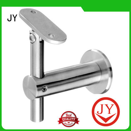 JY Customized galvanized pipe handrail fittings wholesale for Glass product